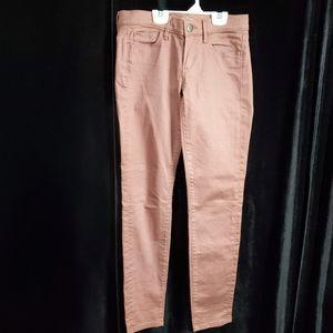 Ann Taylor LOFT Modern Skinny Colored Jeans Sz 25